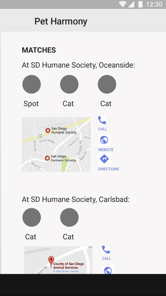 An app to help you find the right pet to adopt